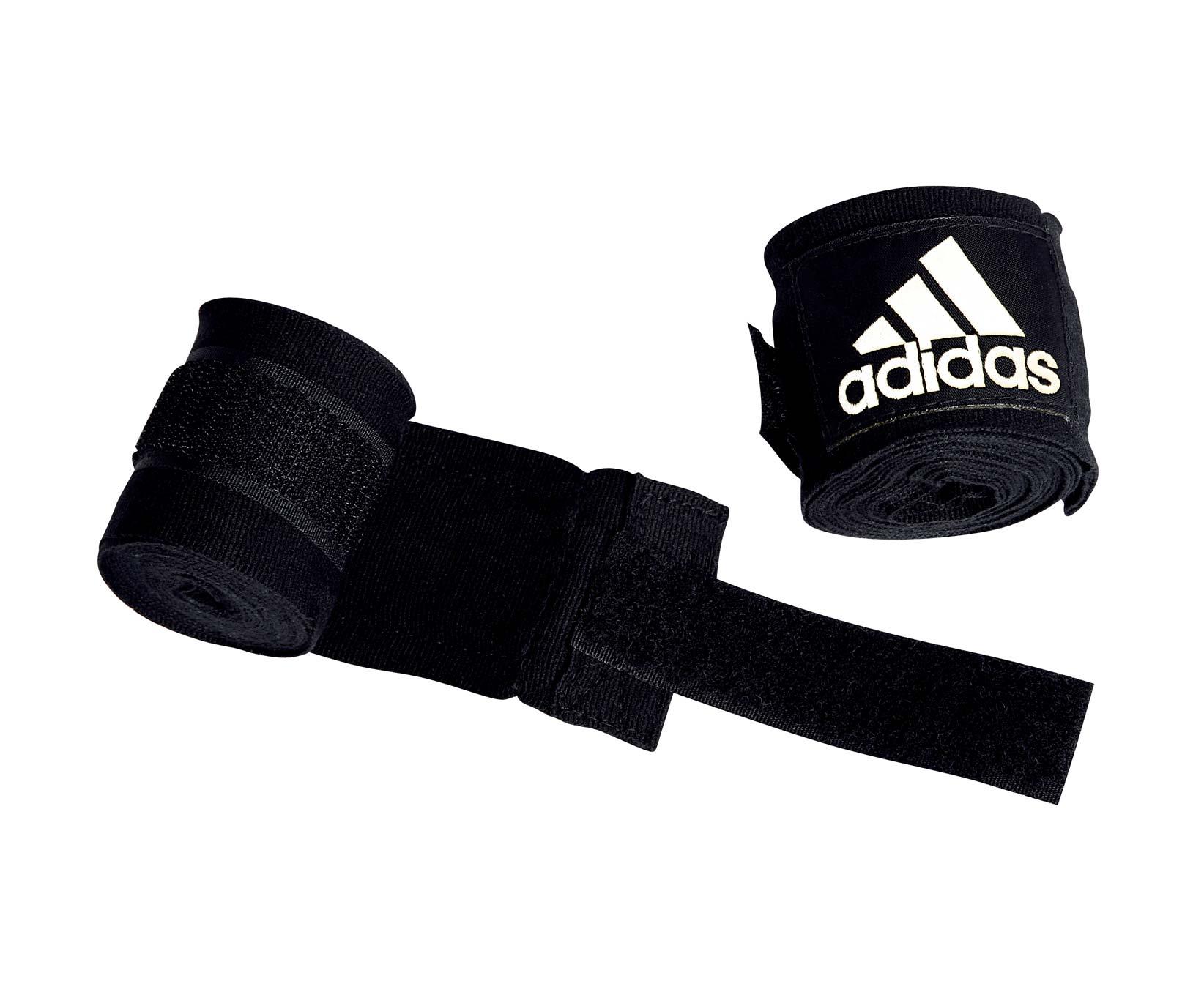 Бинт эластичный Adidas Boxing Crepe Bandage черный