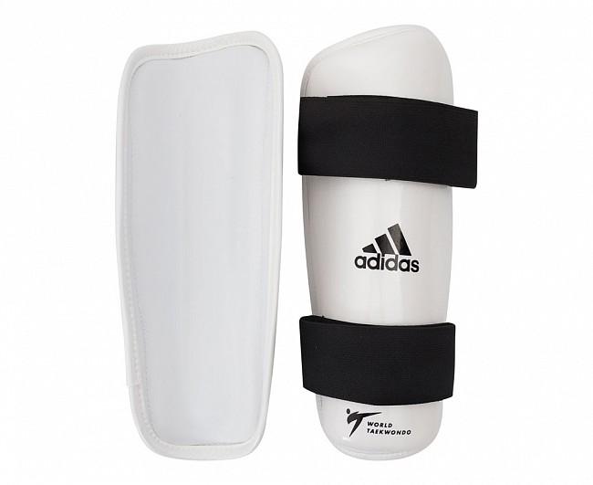 Защита голени для тхэквондо Adidas WT Shin Pad Protector белая M