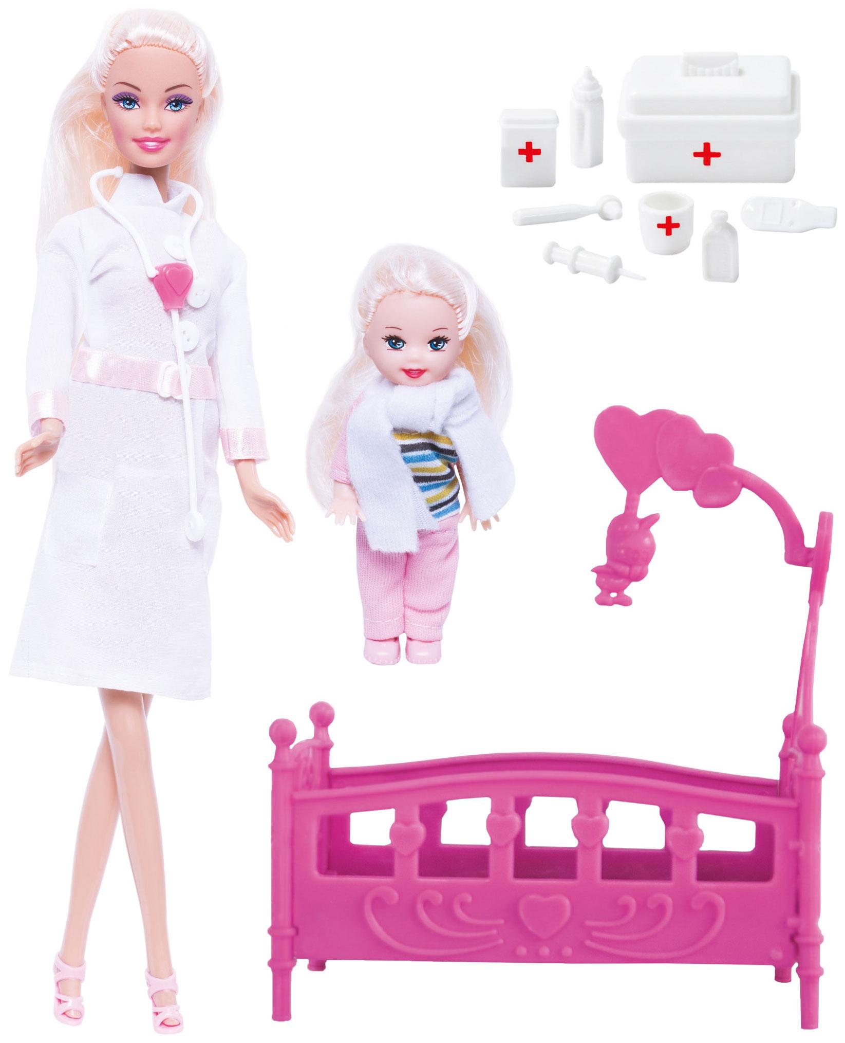 Кукла ToysLab Кукла Ася. Детский доктор