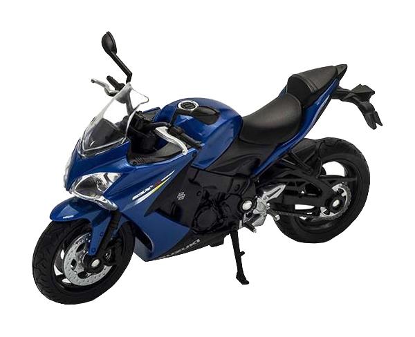 Купить Модель мотоцикла Welly 12844P 1:18 Suzuki GSX S1000F, Игрушечные мотоциклы