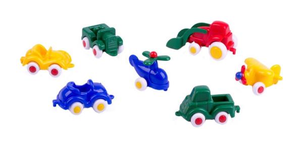 Купить Набор пластиковых машинок Viking toys Мини 7 см, Наборы игрушечного транспорта