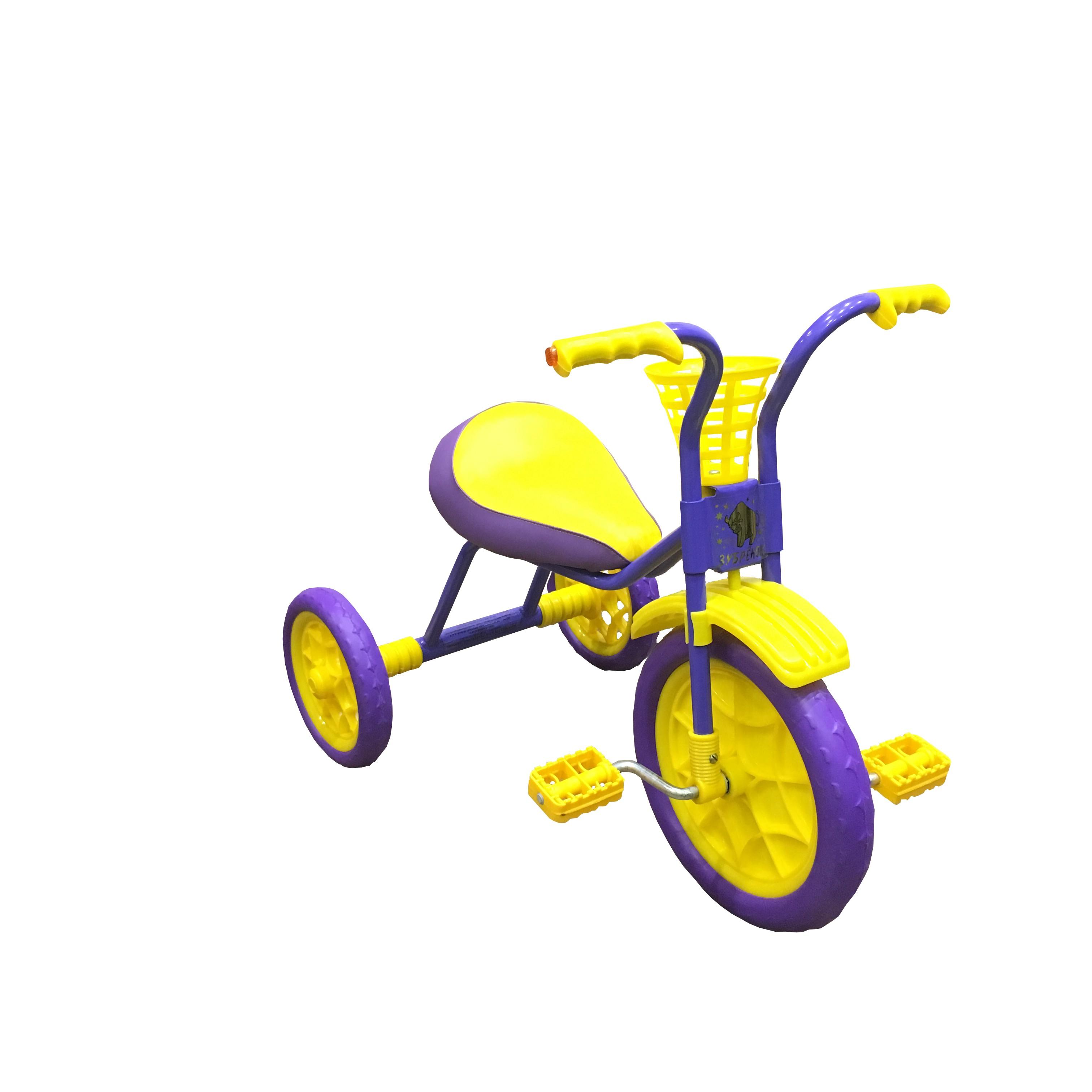 Купить Трехколесный велосипед Woodlines Зубренок Фиолетовый, Детские трехколесные велосипеды