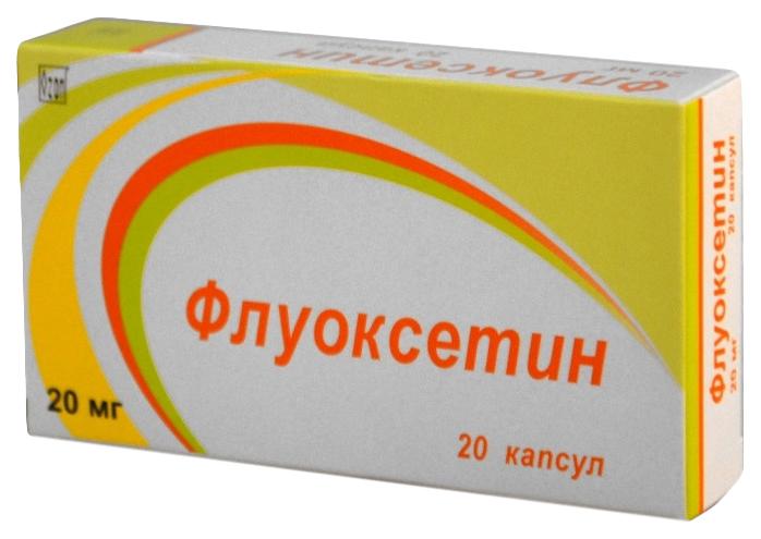 Флуоксетин капсулы 20 мг 20 шт. Озон ООО