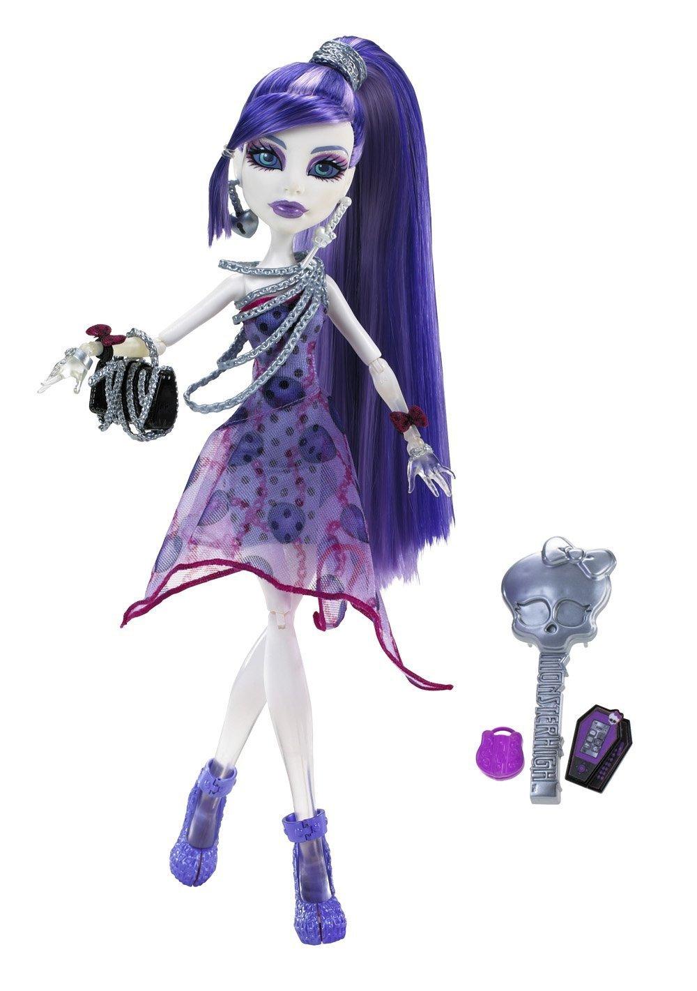 Купить Кукла Monster High Спектра Вондергейст - Вечеринка в горошек X4531, Куклы Monster High
