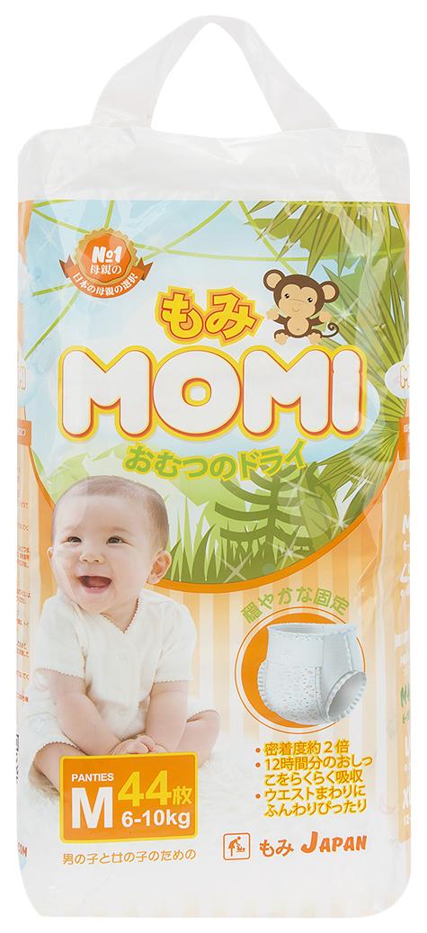 Купить Premium, Подгузники-трусики MOMI M (6-10 кг) 44 шт,