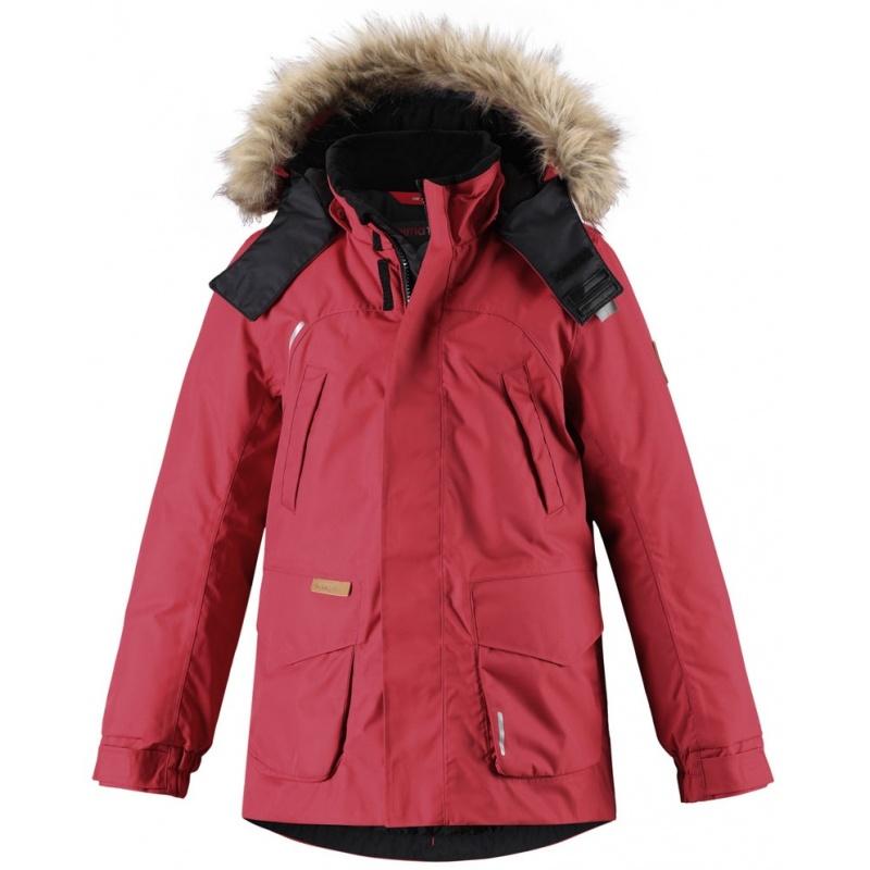 Купить Куртка Serkku REIMA Красный р.134, Детские зимние куртки