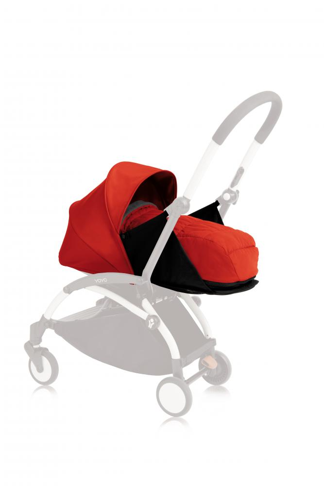 Комплект люльки для новорожденного Babyzen red