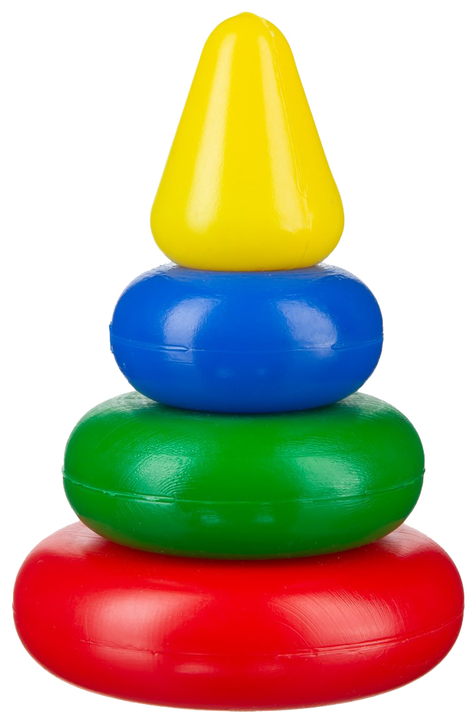 Купить Развивающая игрушка Десятое королевство Пирамидка Малышок 00918ДК, Десятое Королевство, Пирамидки для детей