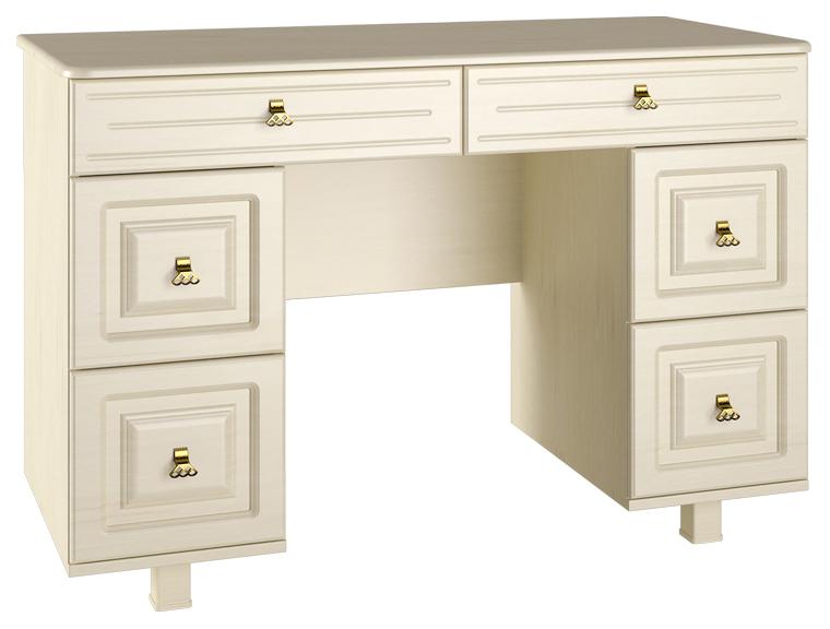 Туалетный столик Компасс мебель 80х120х55 см, бежевый