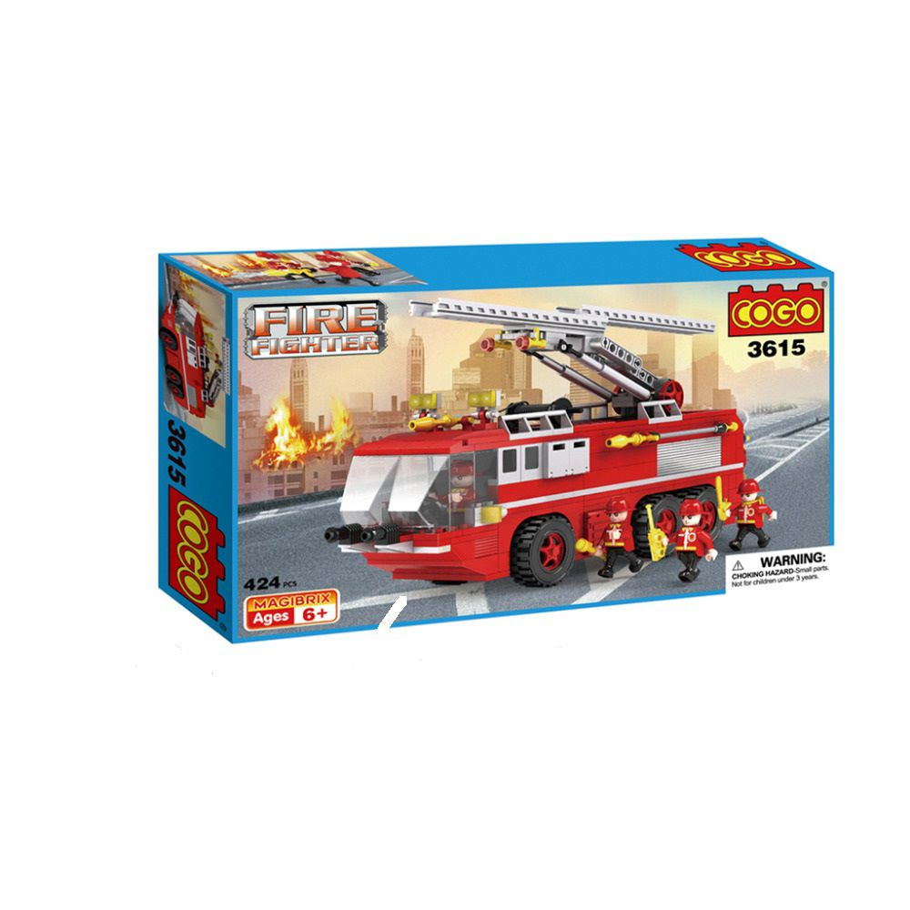 Конструктор COGO Пожарная машина 3615