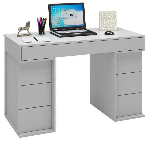 Компьютерный стол МФ Мастер Антер-4 МСТ-СТА-04-БТ-16 120x60x78, белый