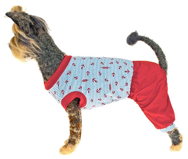 Костюм для собак Happy Puppy пляжный разноцветный M.