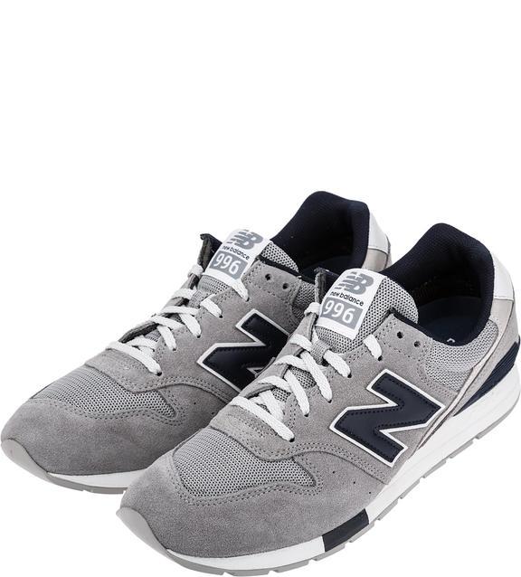 Мужские кроссовки New Balance MRL996WG/D серые/синие/белые 40.5