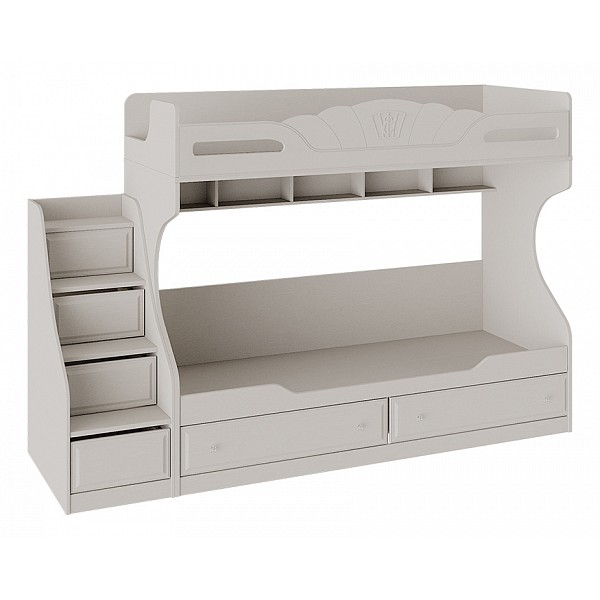 Кровать двухъярусная Сабрина СМ 307.11.001