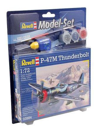 Набор истребитель-бомбардировщик рипаблик p-47 «тандерболт»