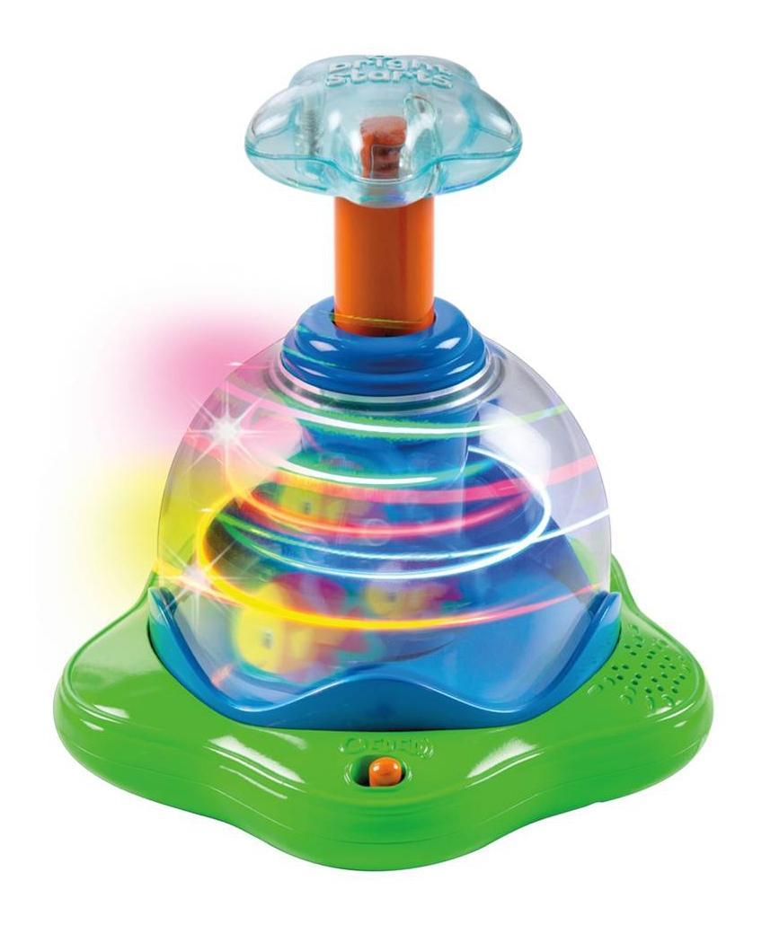 Купить Волшебная вертушка, Музыкальная юла Bright Starts Волшебные рыбки, Развивающие игрушки