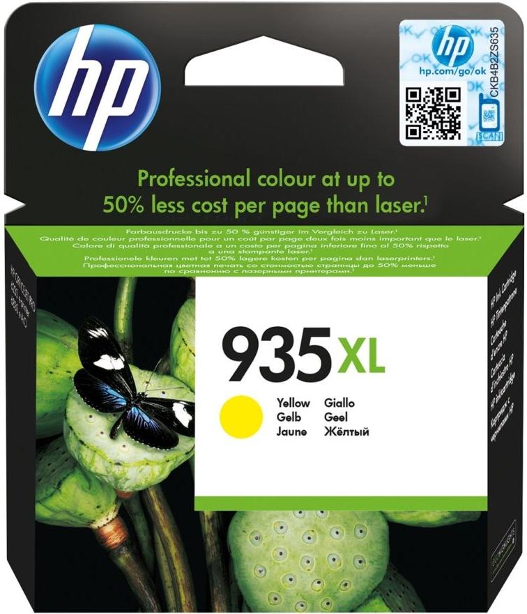 Картридж для струйного принтера HP 935XL Yellow (C2P26AE) фото