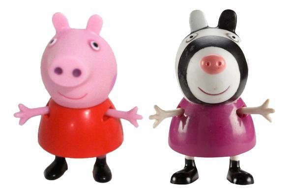 Купить Пеппа и Зои, Фигурки Peppa Pig 28814 Свинка Пеппа и зои, Игровые наборы