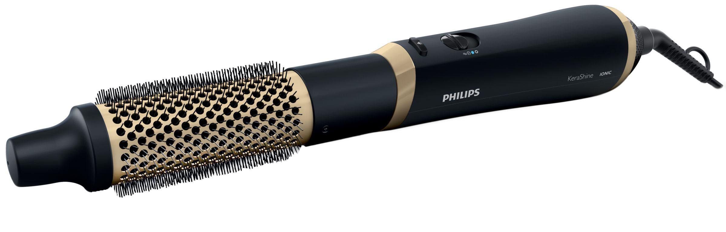 Фен щетка Philips Care HP8667/00 Black/Gold