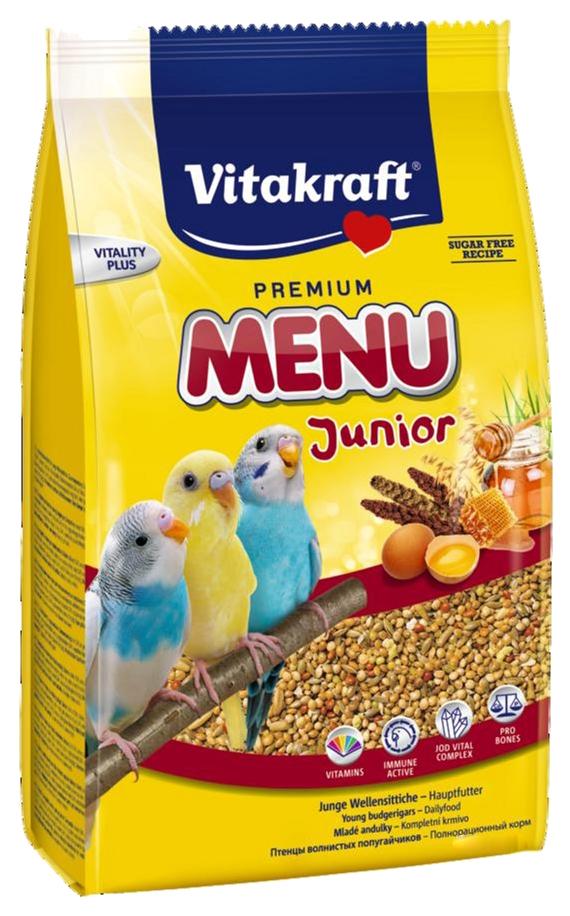 Основной корм Vitakraft для волнистых попугаев