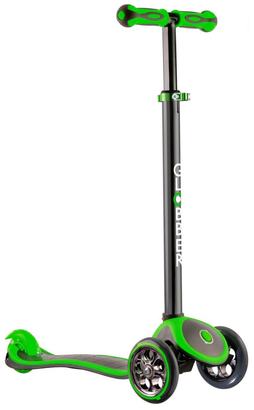 Самокат трехколесный Y-Scoo My free Titaniumgreen