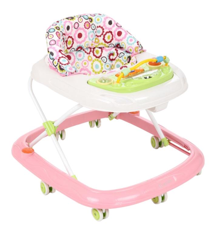 Ходунки детские Capella Bg-0619 розовый-белый фото