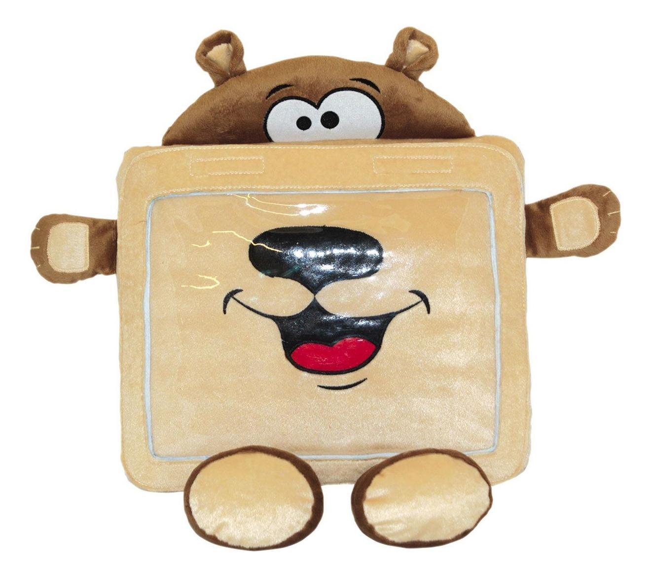 Купить Мягкая игрушка Gulliver Чехол-Игрушка Для Планшета Gulliver Мишка, Мягкие игрушки животные