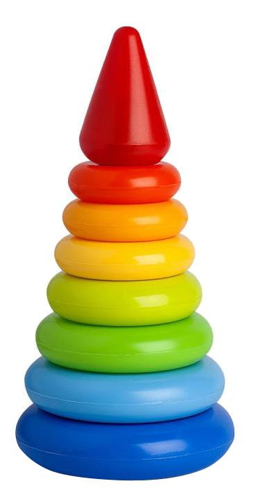 Купить Малая, Пирамида малая Рославльская игрушка 9223в, Пирамидки для детей
