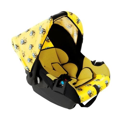 Автокресло SIGER Эгида Люкс Пчелка группа 1/2/3, Желтый (KRES0138)