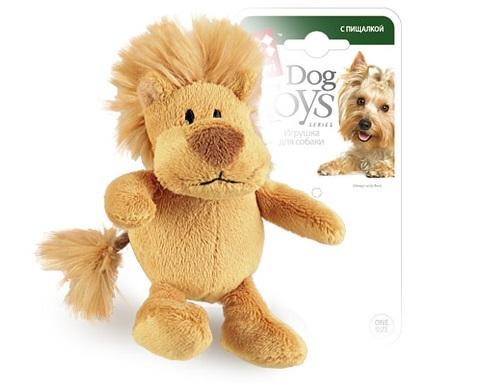 Мягкая игрушка для собак GiGwi Лев