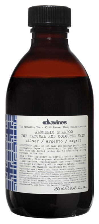 Шампунь Davines Alchemic Shampoo Silver 280 мл фото
