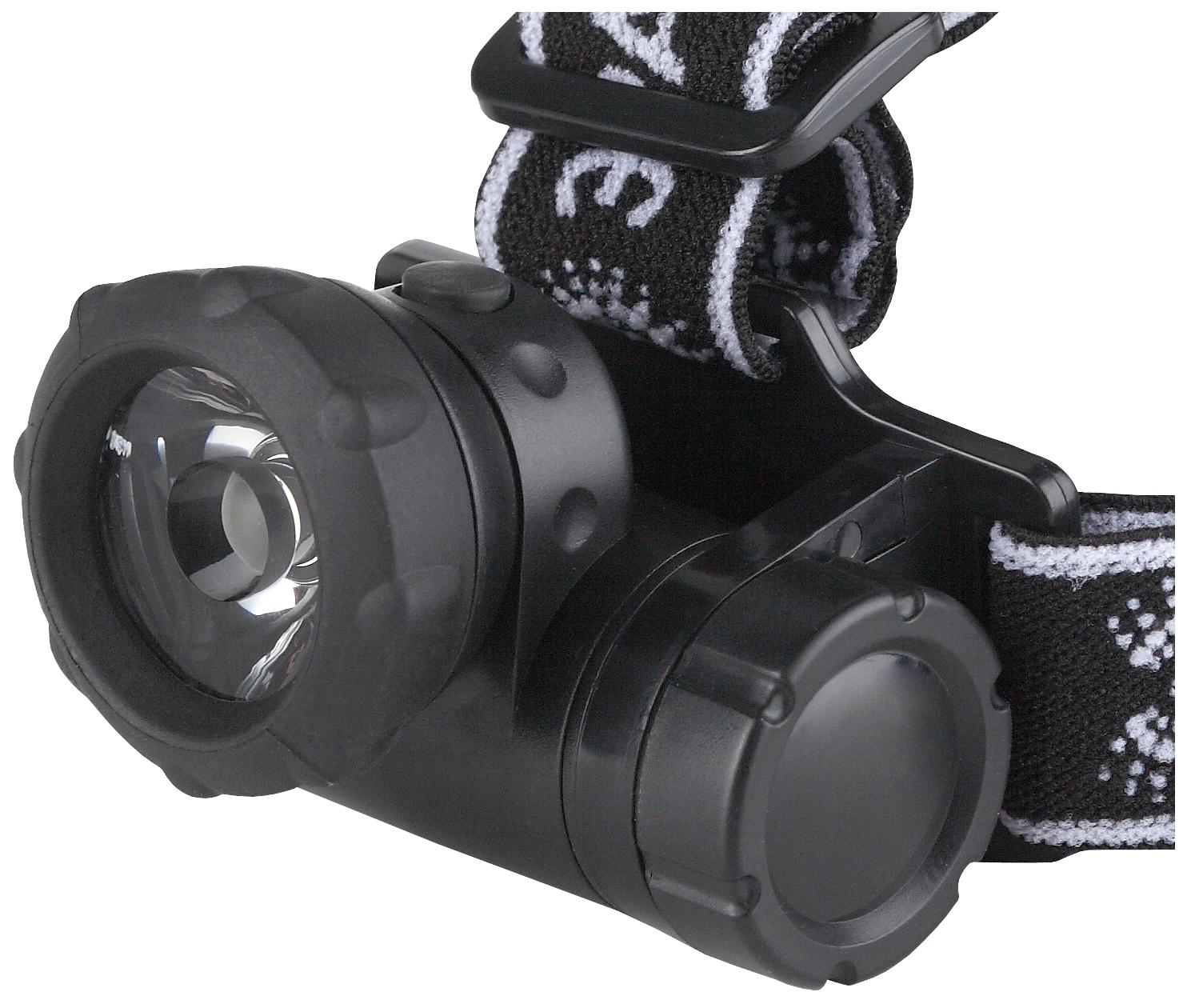Туристический фонарь Эра G1W черный, 3 режима