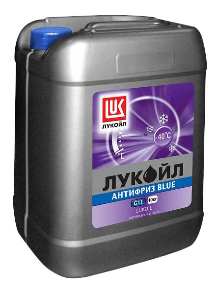 Антифриз LUKOIL Синий Готовый антифриз -41 10кг фото