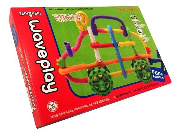 Купить Toy Set, Конструктор пластиковый WavePlay Конструктор 40 шт., Конструкторы пластмассовые