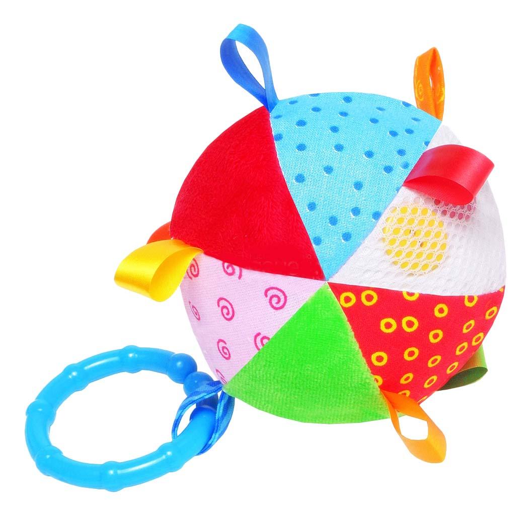 Купить Подвесная игрушка Мякиши Мячик с петельками , Подвесные игрушки