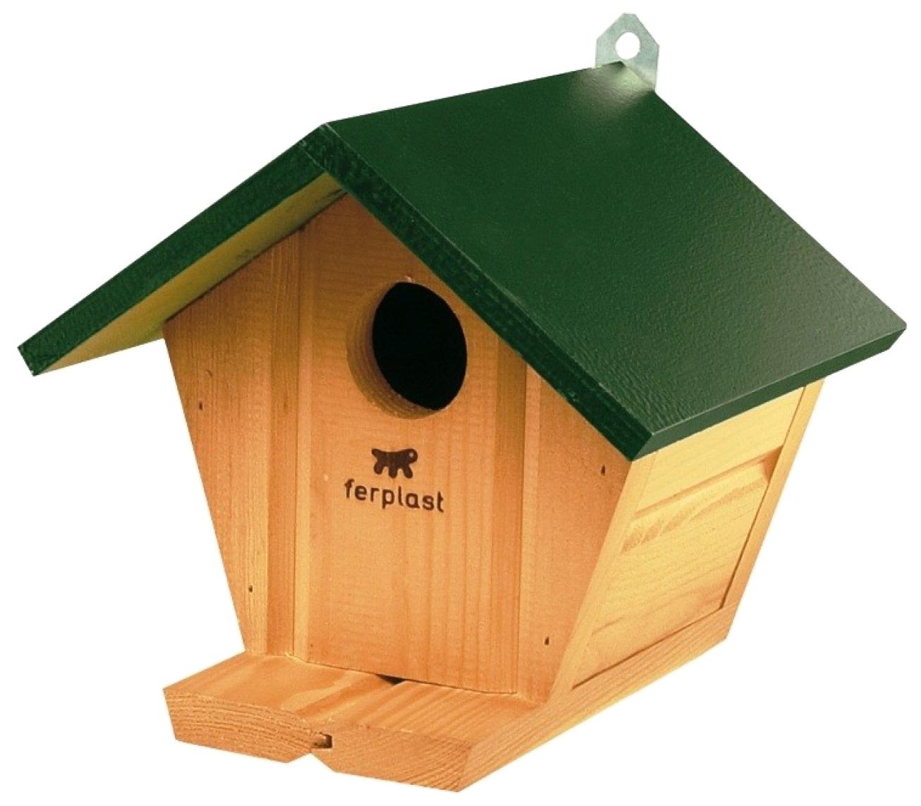 Домик для попугаев ferplast 25x45