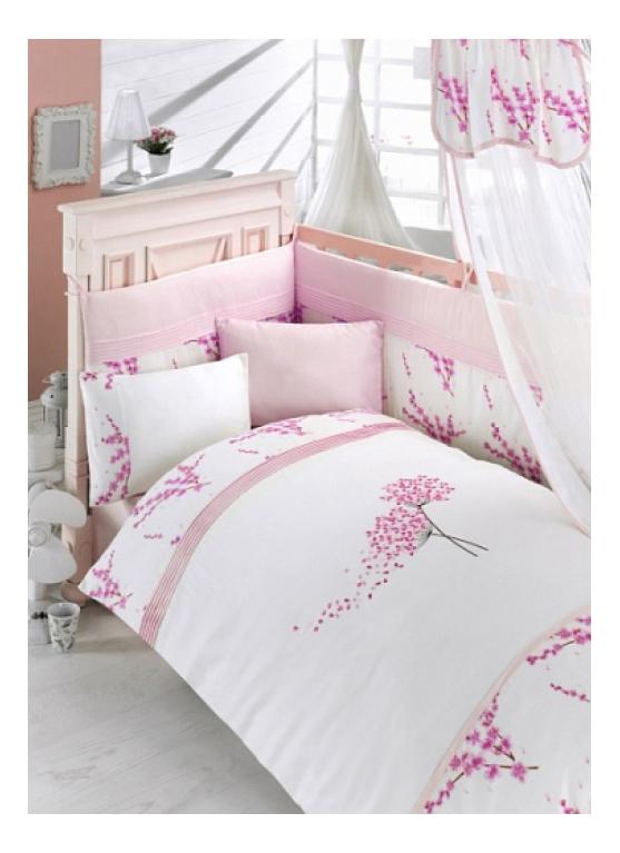 Комплект детского постельного белья Bebe Luvicci Blossom 6 предмета