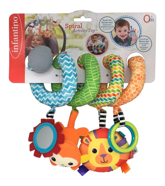 Купить Спиралька, Подвесная игрушка Infantino Спиралька , Подвесные игрушки
