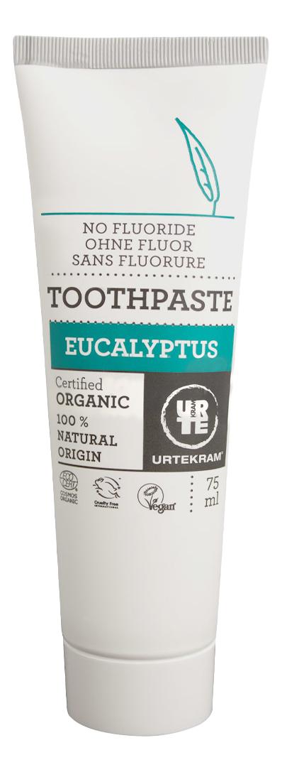 Купить Детская зубная паста Urtekram Эвкалипт 75 мл, Детские зубные пасты