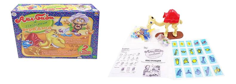 Купить Семейная настольная игра ABtoys Али-Баба и строптивый верблюд, Семейные настольные игры