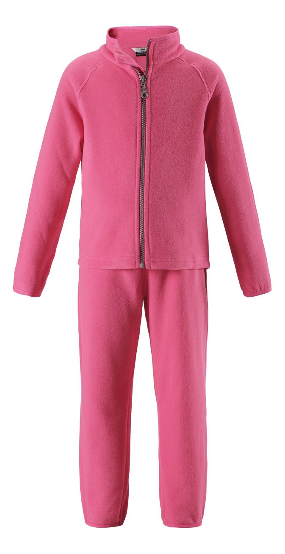 Комплект одежды Lassie флисовый розовый р.122
