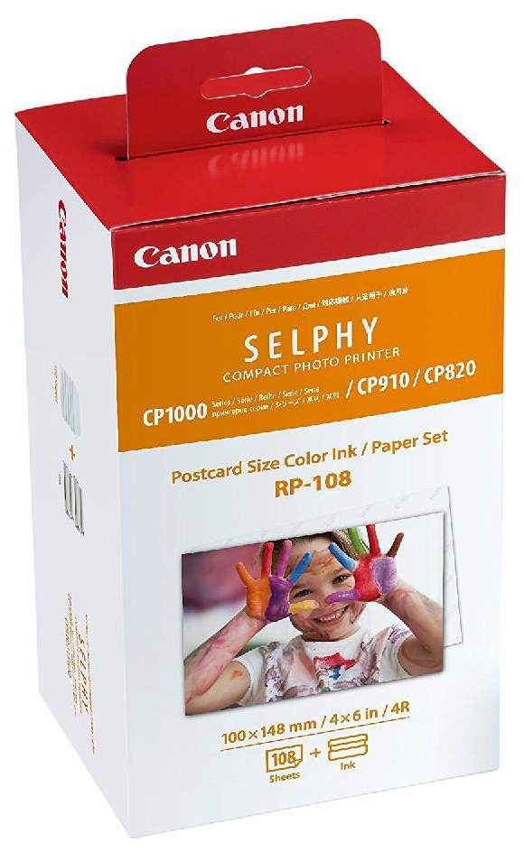 For CP1200/CP1000/CP910/CP820 only Canon RP-108
