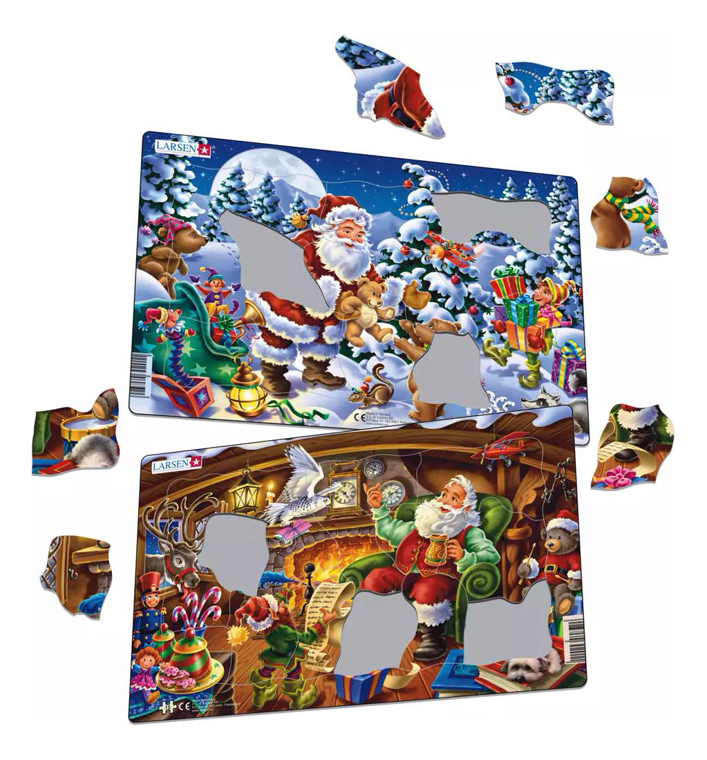 Купить Пазл Larsen Санта-Клаус в ассортименте, Пазлы