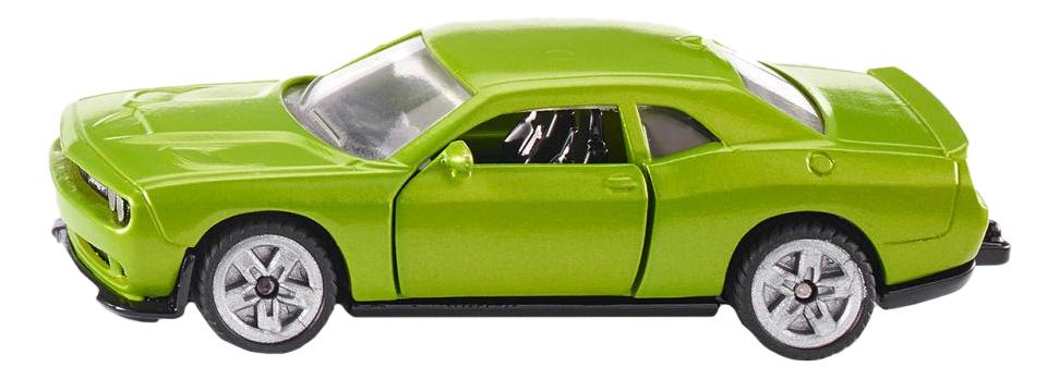 Купить Коллекционная модель Dodge Challenger SRT Hellcat зеленая Siku 1408, Коллекционные модели