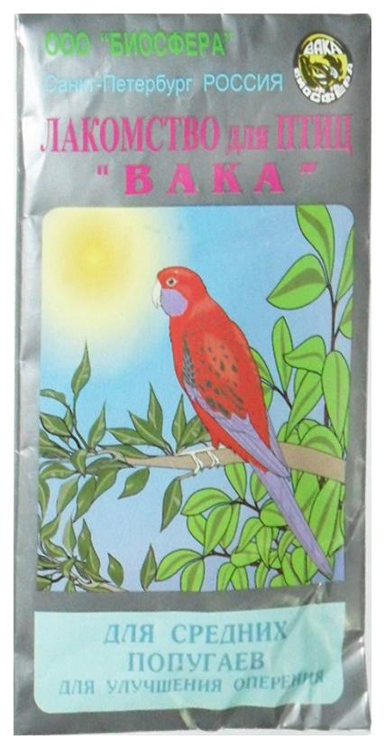 Витаминный комплекс для птиц Вака, для пера