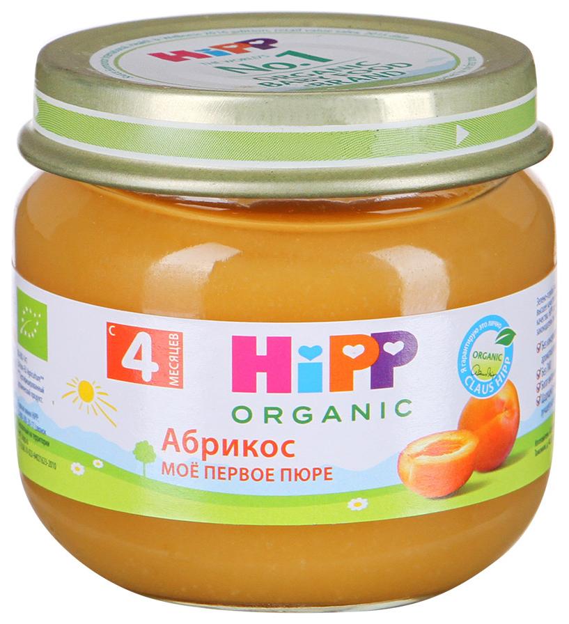 Пюре фруктовое Hipp Абрикос с 4 мес. 80 г