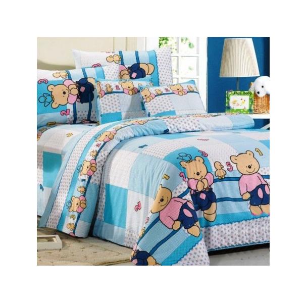Купить Комплект постельного белья СайлиД детский поплин полутораспальный, Комплекты детского постельного белья