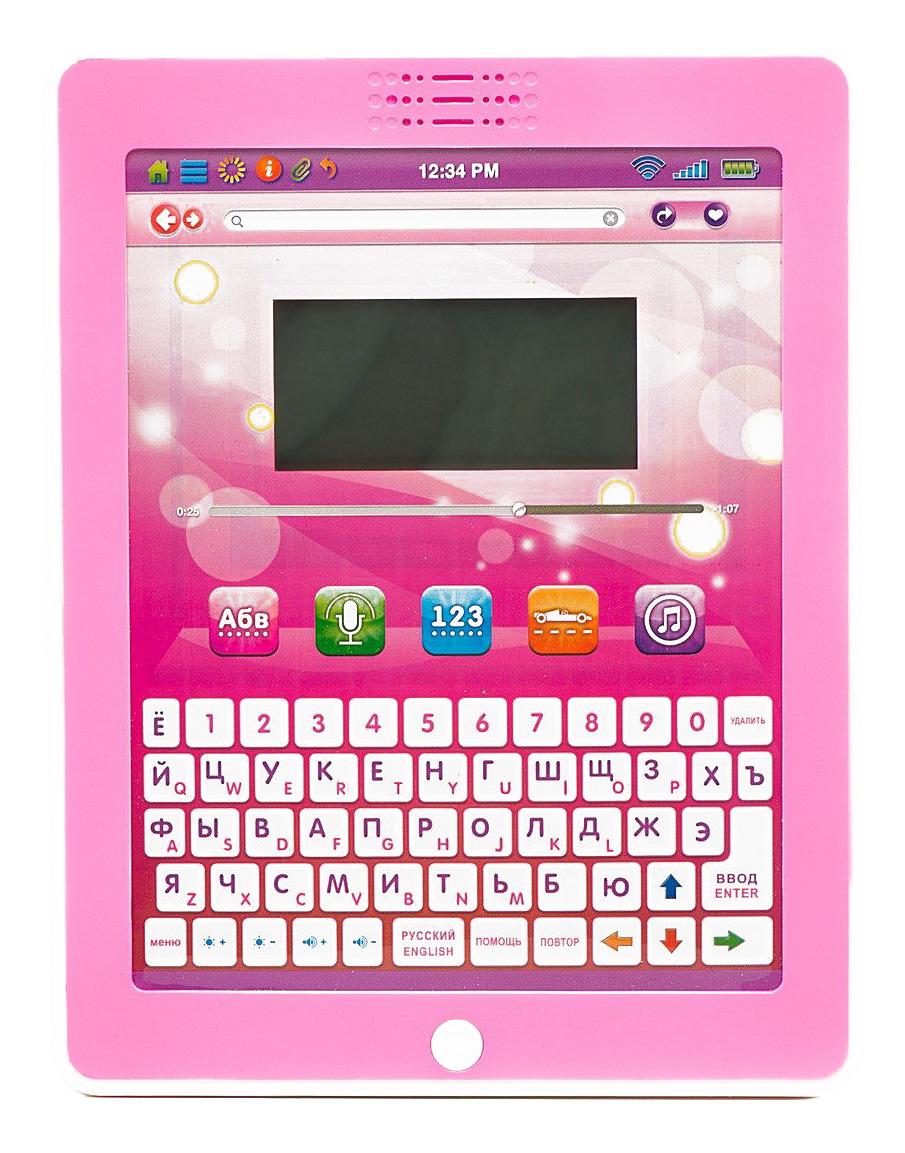 Русско-английский обучающий планшет 32 функции Play Smart Б44004 фото