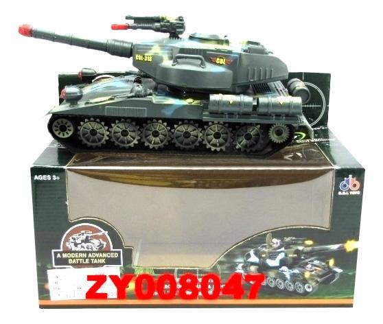 Купить Танк Craziness Tank 1:32 Shenzhen Toys Б36077, Военный транспорт