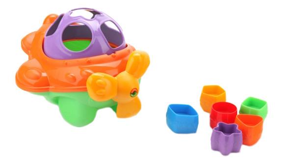 Купить Дидактическая игрушка-сортер Самолет Нордпласт P73263, НОРДПЛАСТ, Сортеры